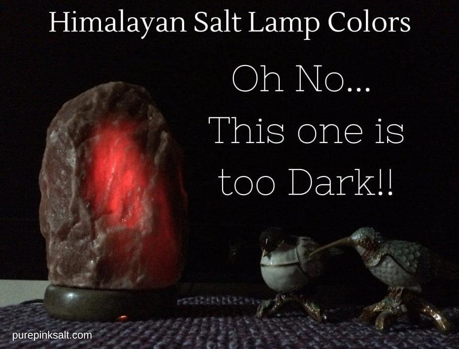Dark Red Salt Lamps : Large Himalayan Salt Lamp - Pure Pink Salt
