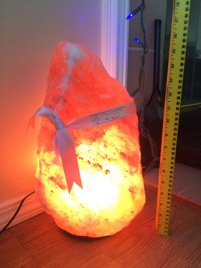 Very Large Salt Lamps : Large Himalayan Salt Lamp - Pure Pink Salt