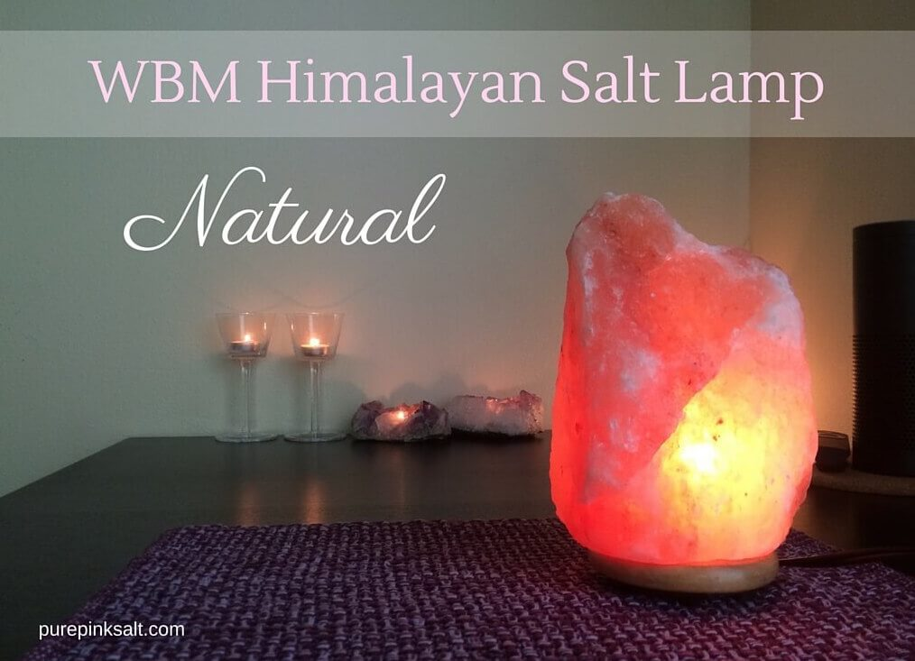 WBM Himalayan Salt Lamp Natural