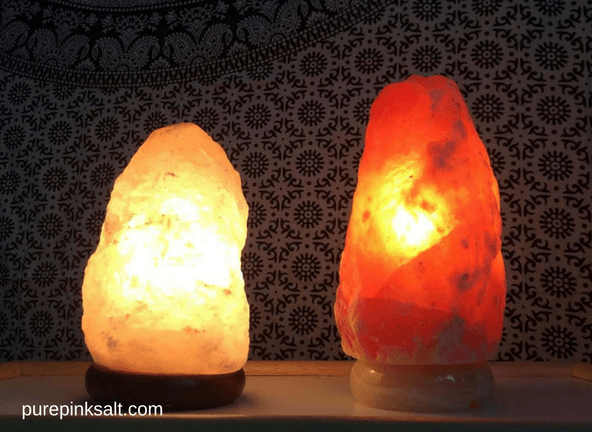himalayan salt lamp colors